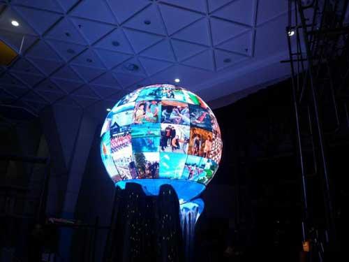 时尚美观的球形LED显示屏如何制作