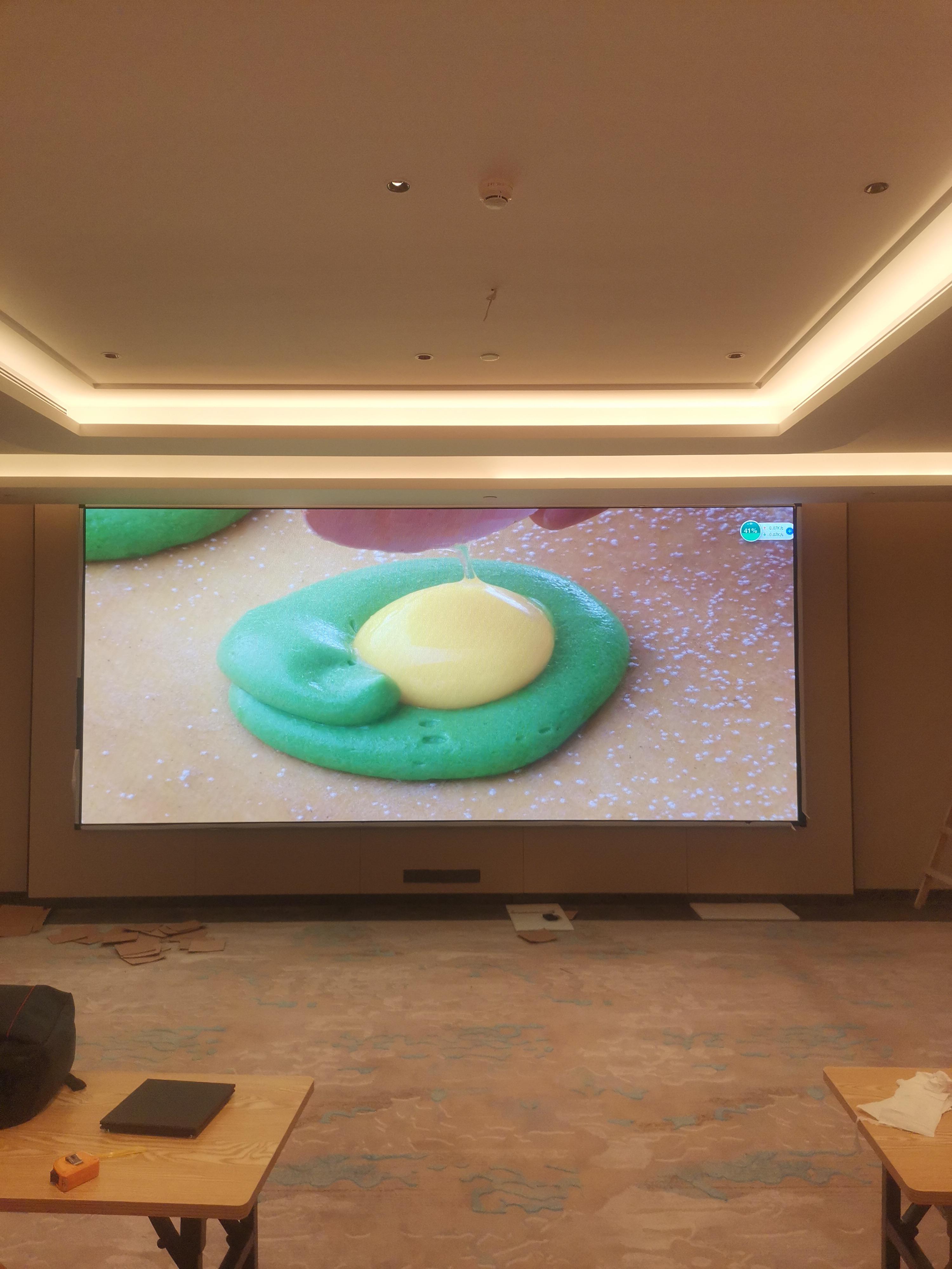 酒店宴会厅/多功能厅的led全彩显示屏如何选择