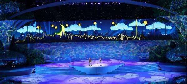 婚庆舞台LED显示屏要怎么设计呢
